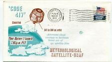 1972 CODE 417 Thor-Burner 2 Meteorological Satellite-USAF Vandenberg USA SAT