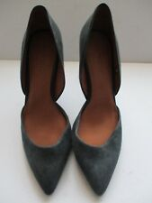 NEXT FOREVER COMFORT LADIES NAVY LEATHER/SUEDE POINTED COURT SHOE SIZE 8/42 NEW