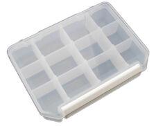 Hobbytech Cassetta Porta Minuteria Box per Viti, Dadi, ecc... 12 Scomparti