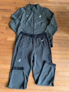 Nike Men's Authentic Travel Jacket Pants Suit Alabama Crimson Tide Large NWT
