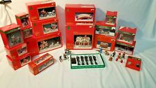 Large set of Lemax Nicholas Square Village Square collection must see!