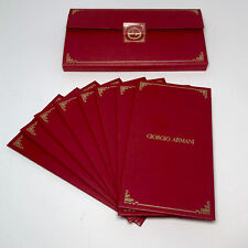 New GEORGIO ARMANI Chinese New Year 2020 Year of The RAT RED Envelopes Set of 8