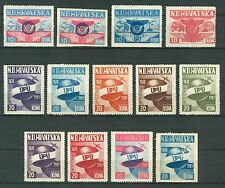 CROATIA HRVATSKA NDH IN EXILE 1949 - AIRMAIL PROPAGANDA CINDERELLA diff. colors