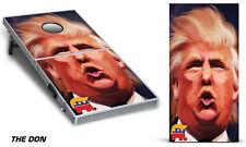 Custom Cornhole Wrap for Bean Bag Toss Game Corn Hole Decal Sticker Trump THEDON