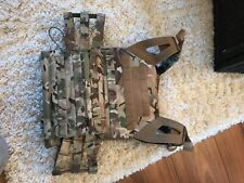 Airsoft combat vest mag holder & Pistol Holster mw not used