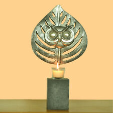 Abstract Iron Candle Holder Tealight Owl Ornament Candle holder