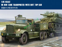 Trumpeter model kit 63502 US M19 TANK TRANSPORTER WITH SOFT TOP CAB 1/35 tank