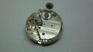 Vintage Ebosa 23 15 Jewel watch Movement for spares