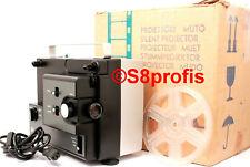 Super 8 + Normal 8 Filmprojektor,Bauer Silma S144 ,Projektor, 2 Jahre Gew.