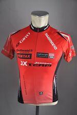 Jeantex JX equipo Shimano camiseta talla 152 niños BW 42cm Cycling Jersey bike ba5