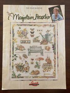 Marjolein Bastin THE FOUR SEASONS Cross-Stitch