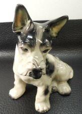 Dog Figurine Porcelain/Vintage Scotty Welsh Fox Wire Hair Airedale Terrier Figur