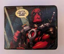 Marvel Deadpool Men Leather Money Wallet Bifold REVENGE OF THE GIPPER VARIANT