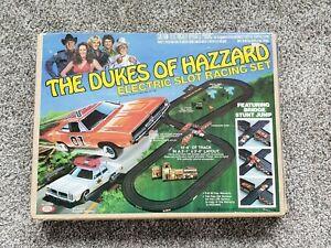 Dukes of Hazard Electric Slot Racing Set in Box