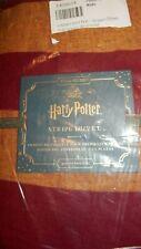 Pottery Barn Kids Harry Potter Full/Queen Striped Duvet Cover Nip