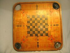 Vintage Early 1900's Carrom Board Style E No1 Archarena by Carrom Co MAPLE WOOD