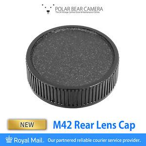 M42 42mm Screw Thread Mount Rear Lens Cap [UK STOCK]