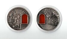 2012 Republic of Palau Kremlin Moscow 55mm Medal Coin in Capsule