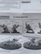 Forgeworld NEW NIB Elysian Snipers Squad Drop OOP Imperial Guard  Warhammer 40k