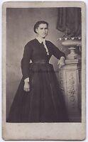 H.Kirsch Fotografia Primitivo Chauny-Aisne Francia CDV Vintage Albumina Ca 1860