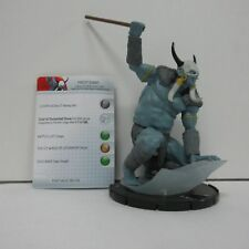 Marvel HeroClix Frost Giant #G06 w/ Card Broken Spear F05