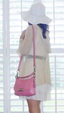 Coach Kristin Leather Flap East West Crossbody Bag Purse 22308  Pink