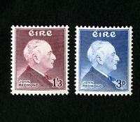 Iceland Stamps # 157-8 VF OG NH