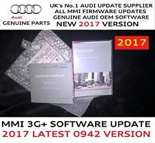 Audi Q5 Q7 MMI 3G+ Plus Genuine S/W SD Card 0942 2017 Maps 6.24.2 Full Pack