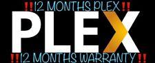12 months plex | 3,200 +++ Content | ‼️INSTANT DISPATCH‼️