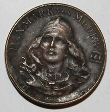 1912 DENMARK OUR MOTHER MEDAL SOLD IN US TO FUND EQUESTRIAN STATUE CHRISTIAN IX!
