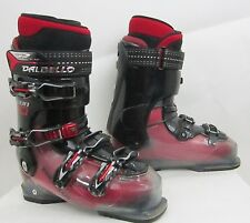DALBELLO AXION 10 SKI BOOT SIZE: 27.5 COLOR: BLACK/RED