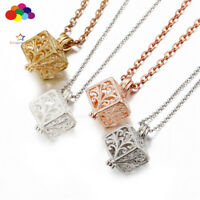 New Aroma Diffuser Magic box Necklace Lockets Perfume Essential Oil Aromatherapy