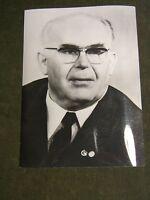 Berlin-DDR-Ostberlin Pressefoto Porträt von Erich Mückenberger SED 1960.Jahre