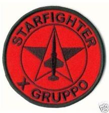 TOPPA STARFIGHTER F-104 X° GRUPPO PATCH IN STOFFA