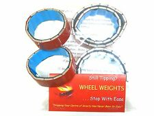 SCALE CRAWLER Stick on Wheel Weights COMPLETE SET SCX10 best way to stop tipping