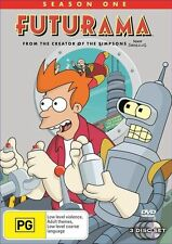 Futurama : Season 1 (DVD, 2006, 3-Disc Set) TV Animation Series VGC R4