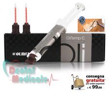 Cemento dentale per fissaggio provvisorio di ponti e corone OlitempC,siringa 5ml