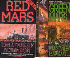 Complete Set Lot of 4 Mars Trilogy + Stories by Kim Stanley Robinson (Sci Fi)