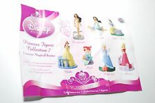 Disney PRINCESS MINI MAGICAL FIGURE COLLECTION 7 CAKE TOPPERS COMPLETE SET VHTF