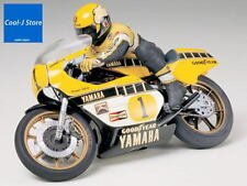 RARE TAMIYA 1/12 YAMAHA YZR500 & KENNY ROBERTS WORLD CHAMPION MODEL