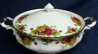 Royal Albert OLD COUNTRY ROSES vegetable tureen & lid up 2 available