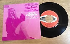 SP 45 tours  BOF The love machine Dionne Warwicke Warwick Dyan Cannon 1971 EXC
