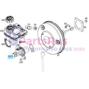 Genuine Smart Fortwo Master Brake Cylinder 4534300001