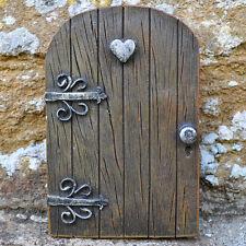 Castle Kingdom Fairy Heart Door Pixie Garden Ornament Elf Outdoor Magical 39161
