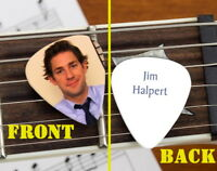 Set of 3 The Office Jim Halpert premium Promo Guitar Pick Pic