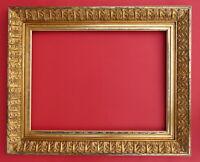 Rahmen - Spiegelrahmen - 19. Jh. - Holz, Ornamente Masse, vergoldet    (# 2688)