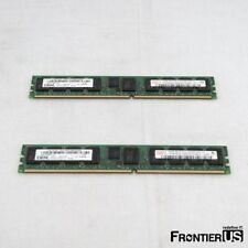 HP ORIGINAL AD276A 8GB SINGLE RANK PC2-4200 MB//S 2X4GB REGx RX2660 DDR2-533