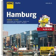 ADAC CityAtlas Hamburg 1 : 15 000 (2018, Taschenbuch)