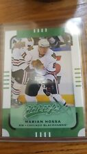 2015-16 Upper Deck MVP E PACK EXCLUSIVE GREEN PARALLEL Marian Hossa #22