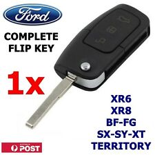 FORD 3 Button Transponder Remote Flip Key BF/FG Falcon Territory/SX/SY XR6/XR8